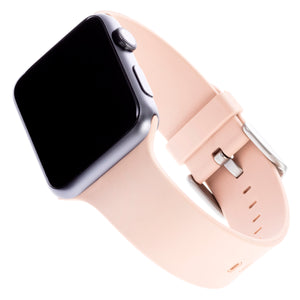 WITHit Silicone Band for 42 or 44mm Apple® Watch™ - Blush