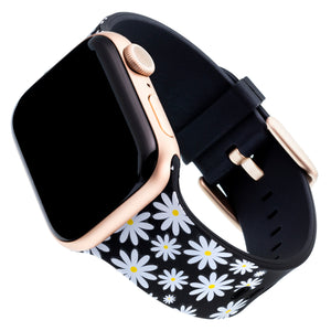 Designer Silicone Band for 38 or 40mm Apple® Watch™ by Dabney Lee - Daisy Darling