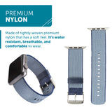 WITHit Nylon Band for 38 or 40mm Apple® Watch™ - Blue