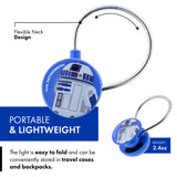 Star Wars Disc LED Reading Light by WITHit - The Astromech Galaxy of Adventures - R2-D2 LED Reading Light