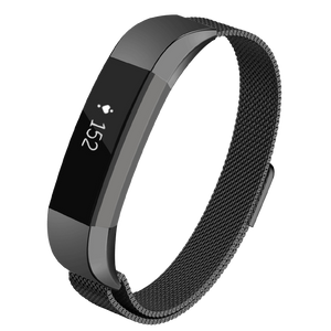 Designer Mesh Band for Fitbit Alta & Alta HR by WITHit in Black