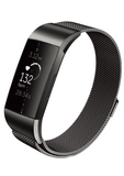 Designer Mesh Band for Fitbit Charge 3 & Charge 4 by WITHit in Black