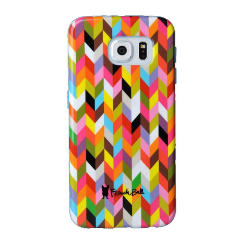 Samsung Galaxy S6 (GS6) Protective Cover by French Bull - Condensed Ziggy