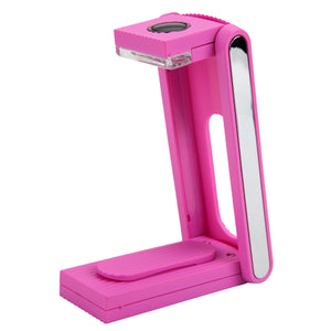 WITHit Fold Light, Pink, Rechargeable Reading Light