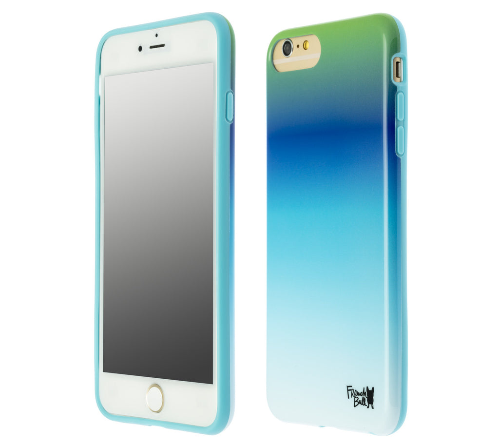 French Bull Blue Ombre Protective iPhone 6+/7+ (for the iPhone 6/6s Plus or iPhone 7 Plus)