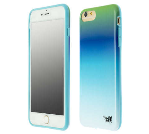 French Bull Blue Ombre Protective iPhone 6+/7+/8+ (for the iPhone 6/6s Plus, iPhone 7 Plus & iPhone 8 Plus)