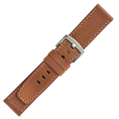 Designer Band for Fitbit Versa Series by WITHit in Brown Leather