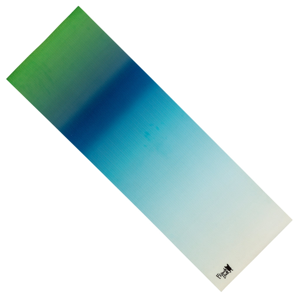 French Bull 5MM Premium Yoga and Fitness Mat - Blue Ombre