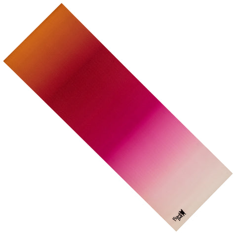 French Bull 5MM Premium Yoga and Fitness Mat - Pink Ombre