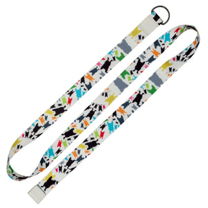 French Bull Yoga and Stretching Strap - Happy Terrazzo