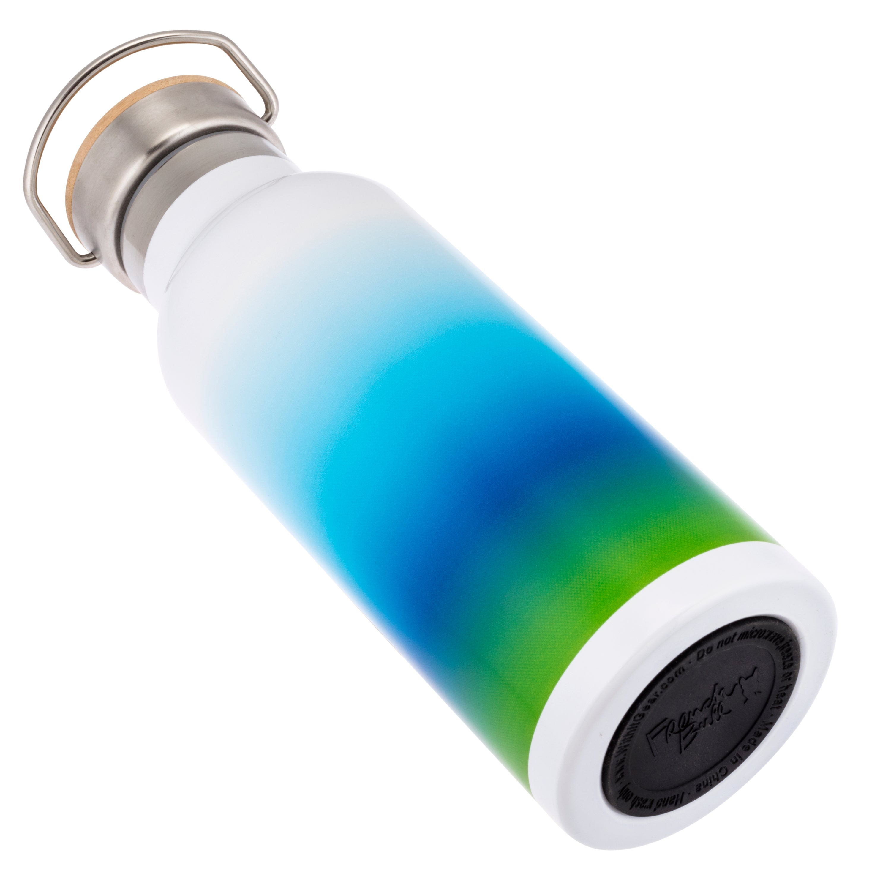 French Bull Stainless Steel Insulated Water Bottle Blue Ombre