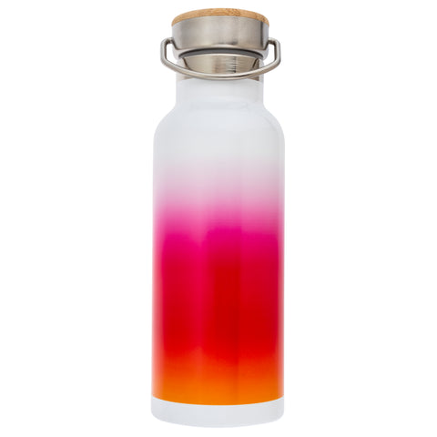 French Bull Stainless Steel Insulated Water Bottle - Pink Ombre