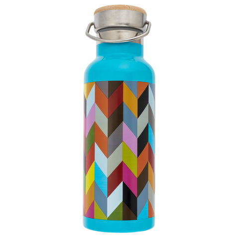 French Bull Stainless Steel Insulated Water Bottle - Condensed Ziggy