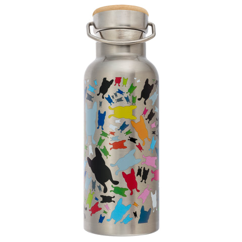French Bull Stainless Steel Insulated Water Bottle - Happy Terrazzo Stainless Steel