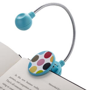 LED Disc Book and Reading Light by French Bull - Multi Dots