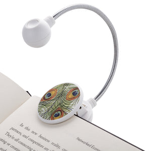 Disc Light Peacock LED Reading Light by WITHit
