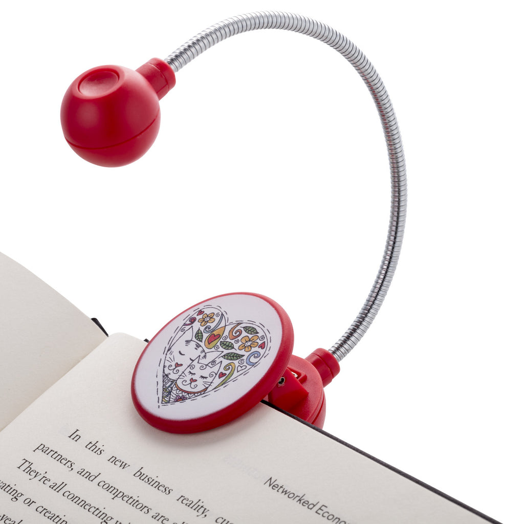 Disc Light Cats LED Reading Light by WITHit