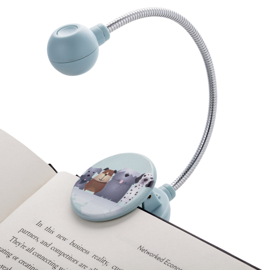 Disc Light Dogs LED Reading Light by WITHit