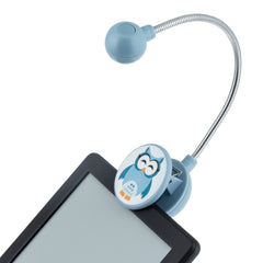 Disc LED Reading Light by WITHit - Sleepy Owl