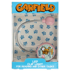 "Garfield ""Hugs"" LED Book and Reading Light - Pink"