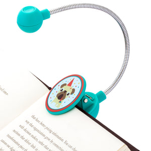 Disc LED Reading Light by WITHit - Party Dog