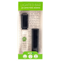WITHit Bar Lighted Magnifier - Black