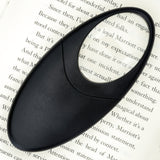 WITHit Lighted Oval Travel Magnifier  - Black