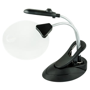 WITHit Table Lighted Magnifier