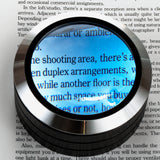 WITHit Lighted Dome Magnifier  - Black