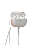 Sport Cover for Apple Airpod Pro - White/Blush Pink