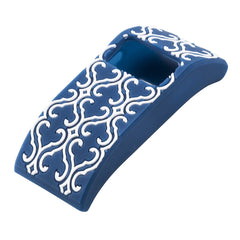 Designer sleeve designed for Fitbit Charge™  and Charge HR - XO Your Sister Arabesque Blue
