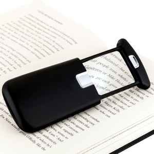 WITHit Pocket Lighted Magnifier - Black