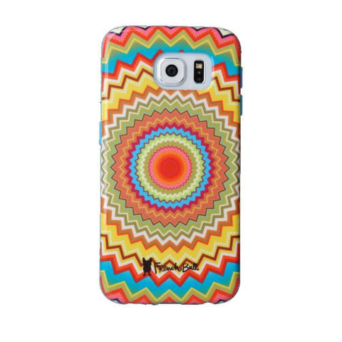 Samsung Galaxy S6 (GS6) Protective Cover by French Bull - Mosaic Zig
