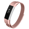 Designer Mesh Band for Fitbit Alta & Alta HR by WITHit in Rose Gold
