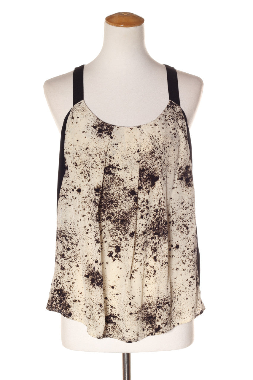 aa2278b43505f COUNTRY ROAD - Mottled print silk tank! 14 - recycle style - 1 ...