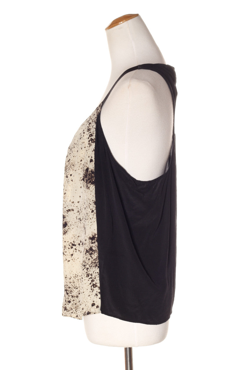 dead3942f7454 ... COUNTRY ROAD - Mottled print silk tank! 14 - recycle style - 3 ...