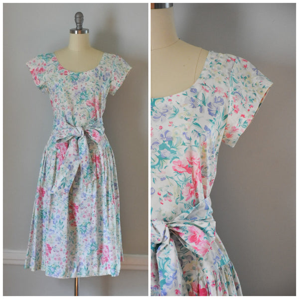 80s Vintage Cotton Dress from DuncanLovesTess.com