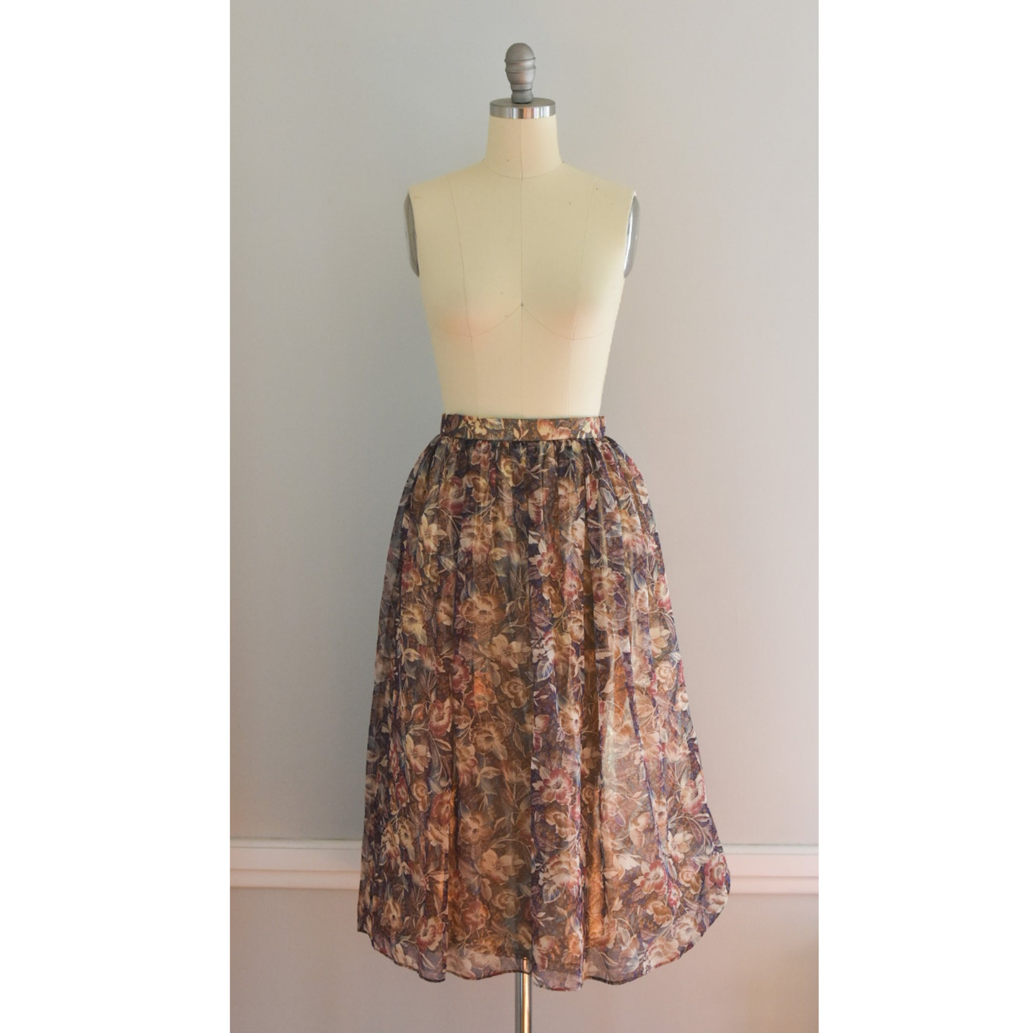 80s Glam Full Skirt