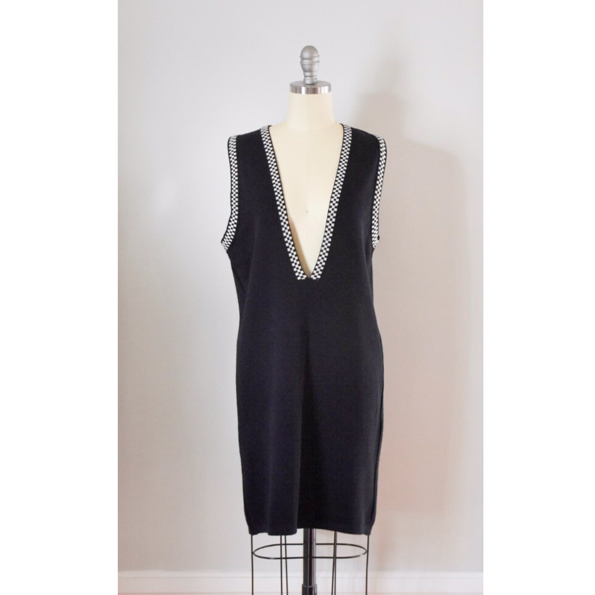 90s Vintage Wool Vest Dress from Duncan Loves Tess Vintage and Retro, www.duncanlovestess.com