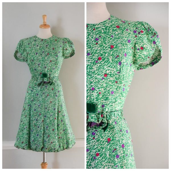 80s Vintage Bubble Dress at www.DuncanLovesTess.com