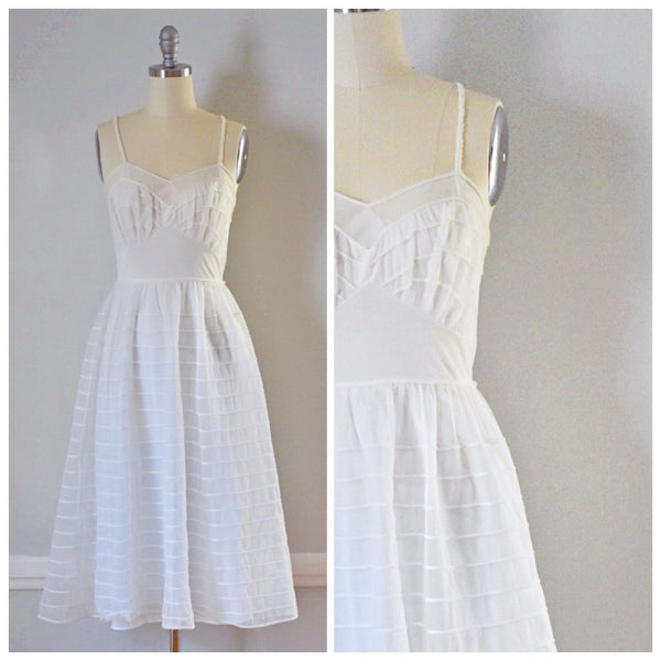 50s Vintage Fit and Flare Nightgown