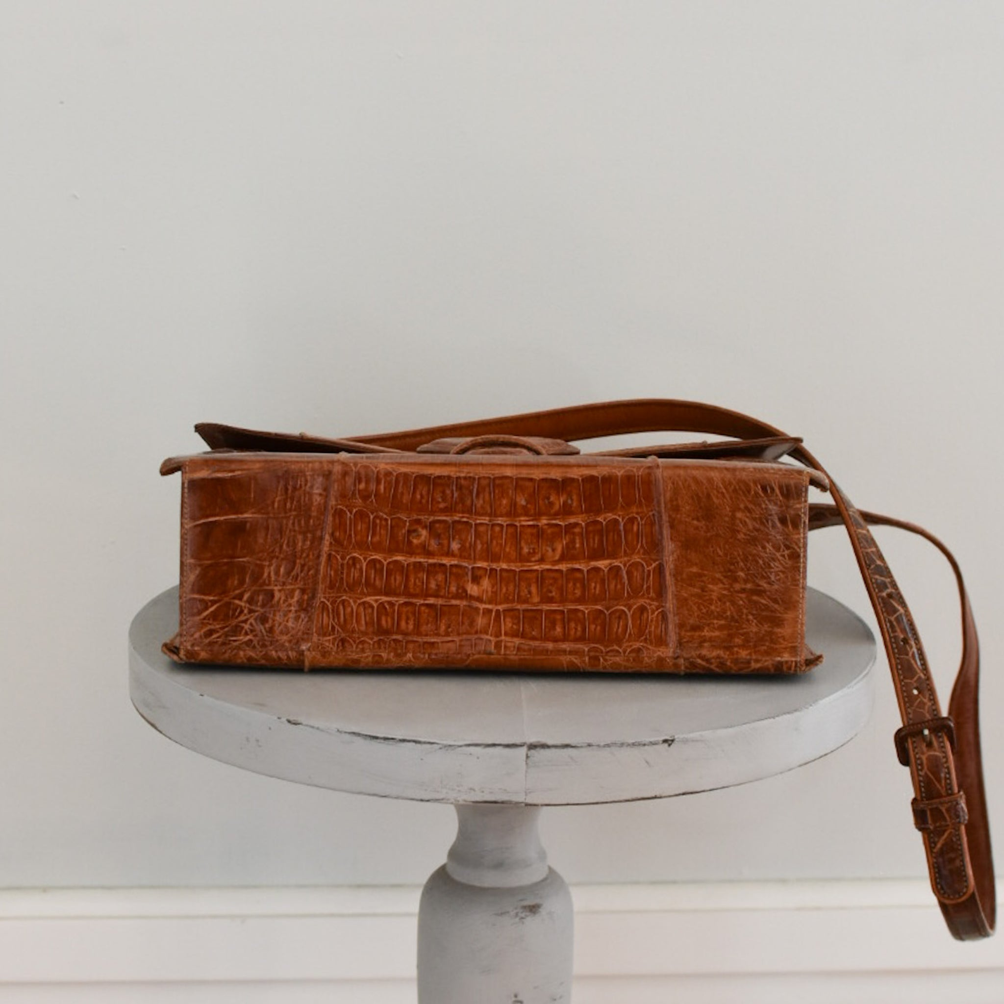 60s Alligator Shoulderbag