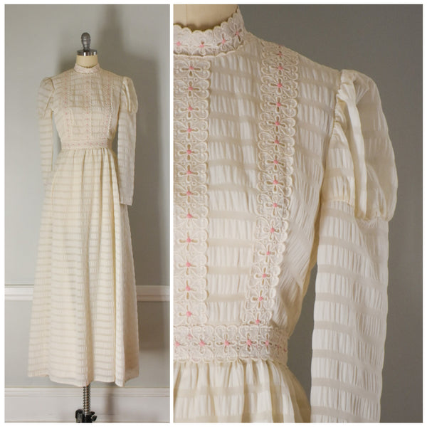 Vintage Lanz Originals Boho Dress from DuncanLovesTess.com