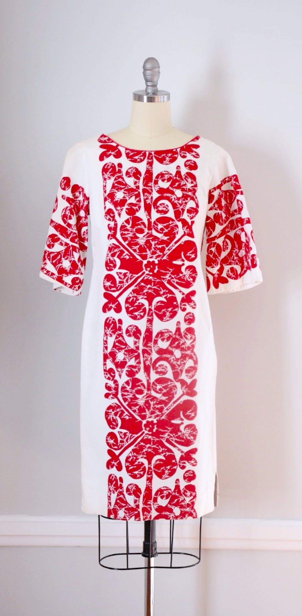 60s Vintage Hawaiian Dress