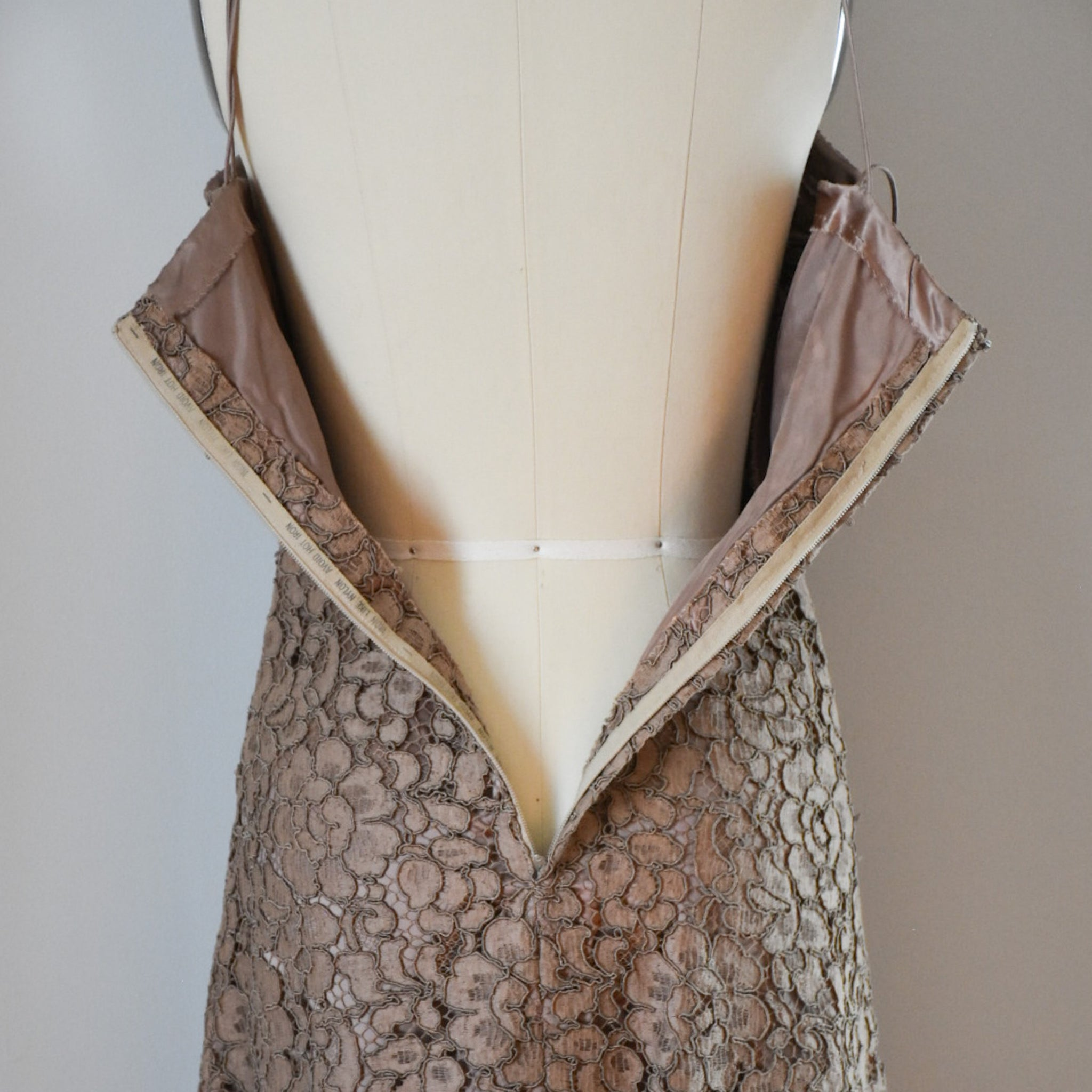 60s / 70s Lace Mini Dress and Bolero