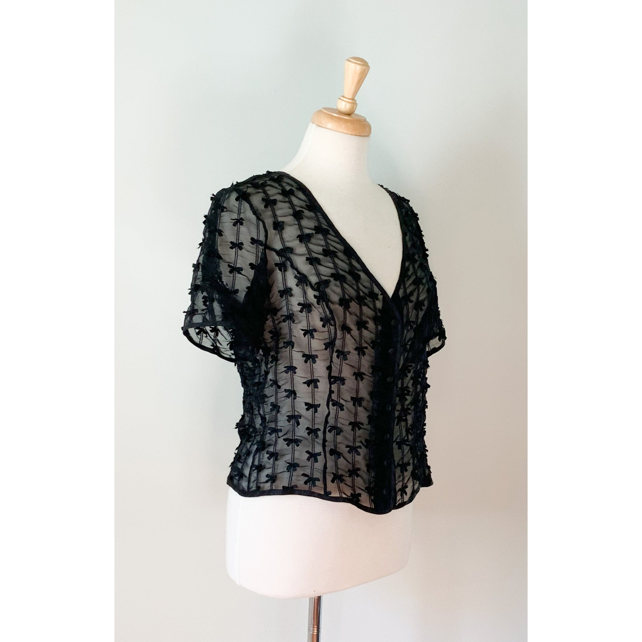 50s / 60s Sheer Topper from DuncanLovesTess.com