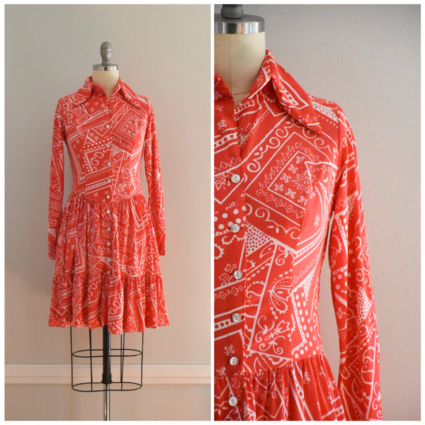 70s vintage boho dress from DuncanLovesTess.com