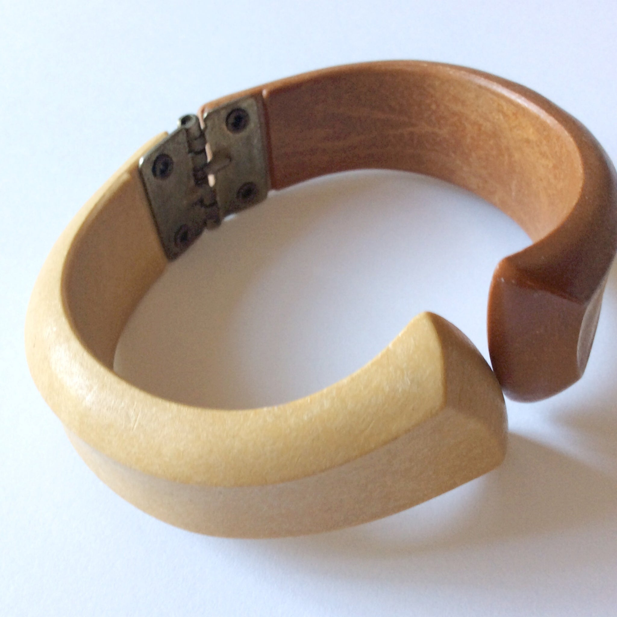 Wood Clamper Bracelet