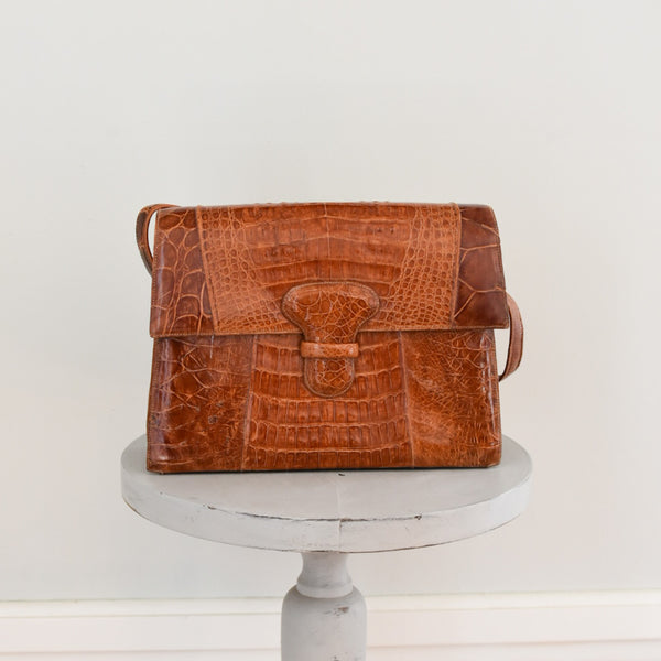 60s Alligator shoulder bag from DuncanLovesTess.com