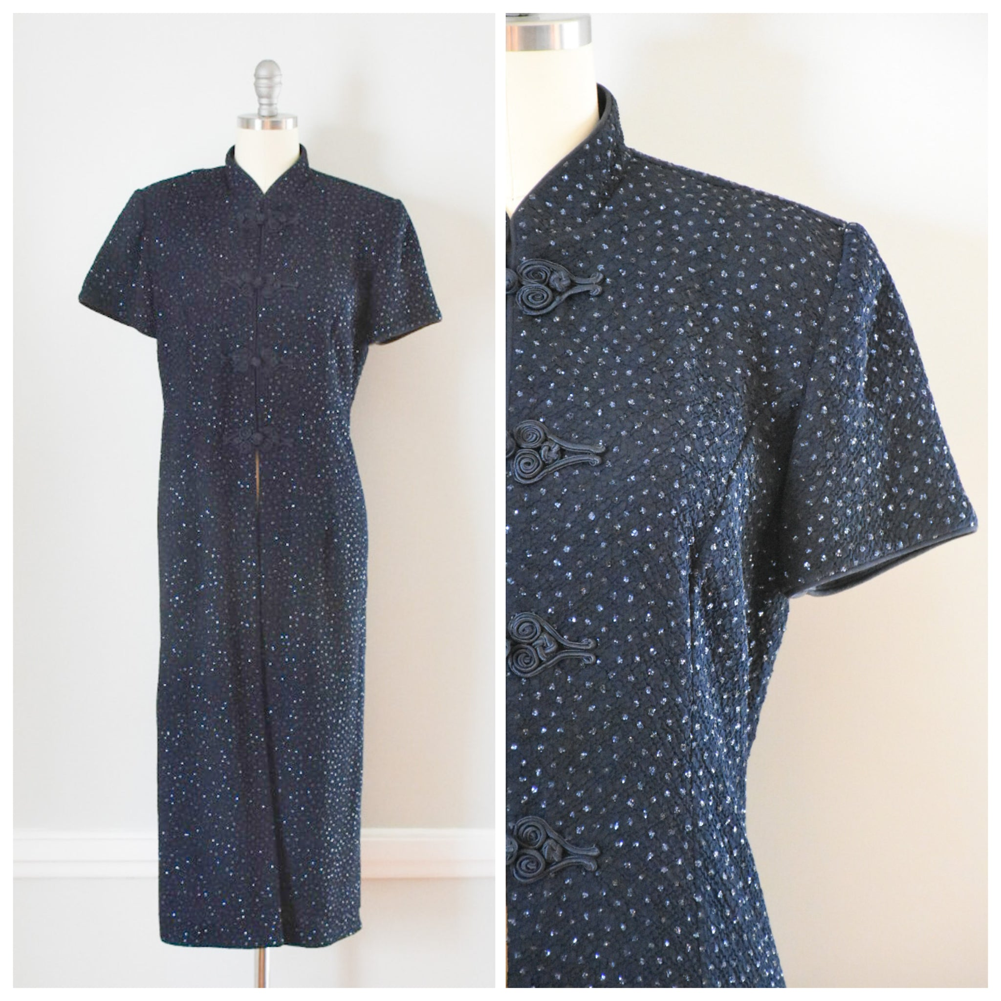 80s Vintage Cheongsam Topper from DuncanLovesTess.com
